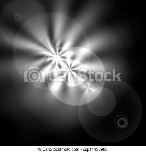Light flare special effect. vector illustration. - csp11438968