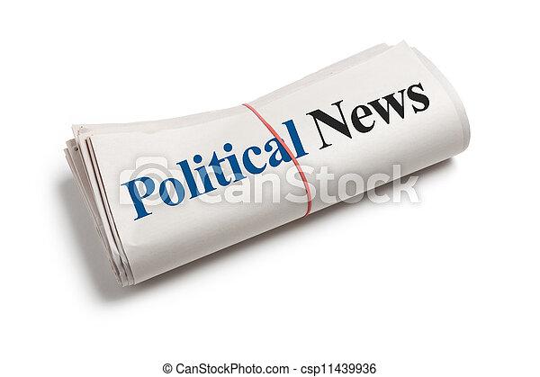 新聞, 政治 - csp11439936