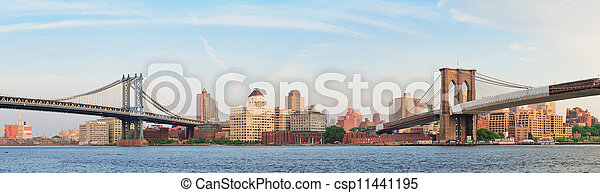 New York City Bridges - csp11441195