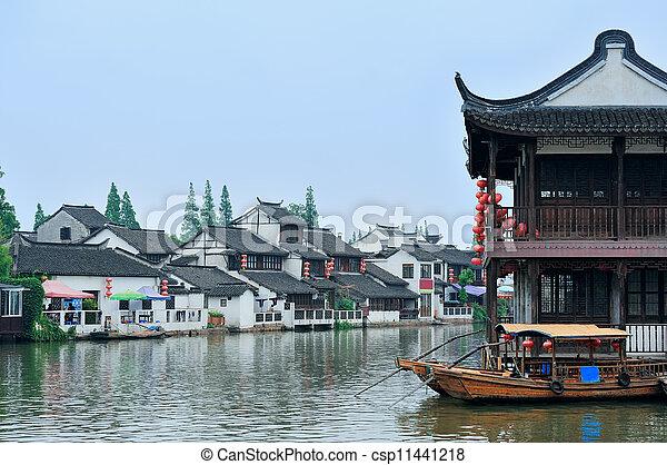 Shanghai rural village - csp11441218