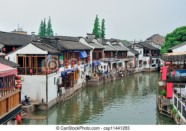 Shanghai rural village - csp11441283