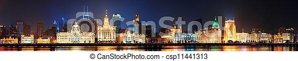 Shanghai historic architecture - csp11441313