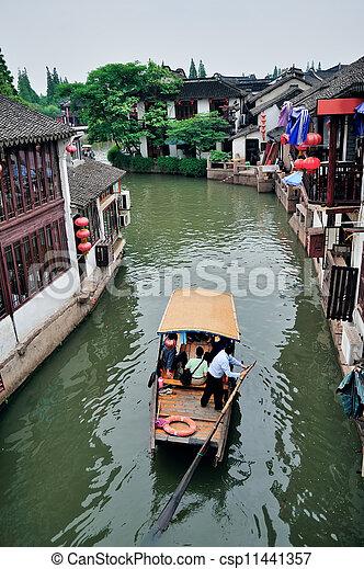 Shanghai rural village - csp11441357