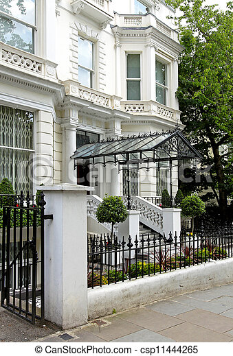 Residential house entrance - csp11444265