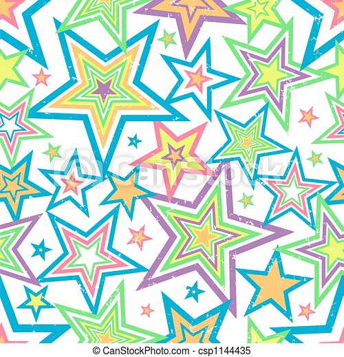 Distressed Stars Background Vector - csp1144435