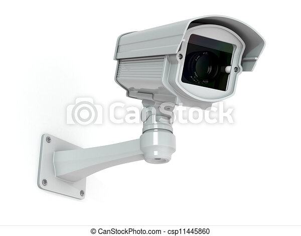 CCTV security camera - csp11445860