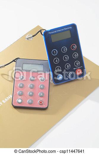 Banking tokens - csp11447641