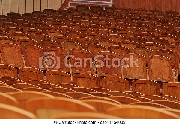 Stuhlreihe clipart  Stock Fotografie von stuhlreihen - Rows, von, stühle csp11454003 ...