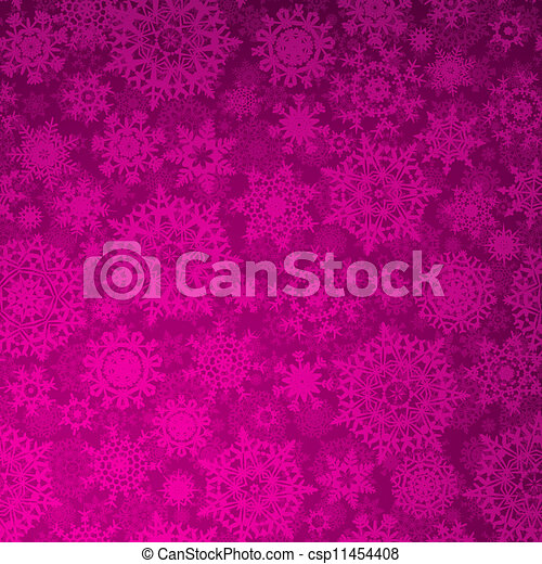 Seamless purple christmas texture pattern. EPS 8 - csp11454408