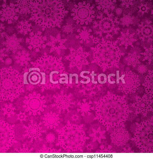 Seamless purple christmas texture pattern. EPS 8 - csp11454408