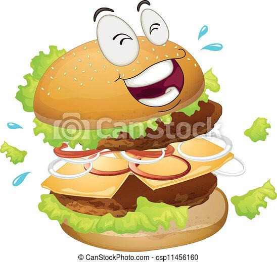 a burger - csp11456160