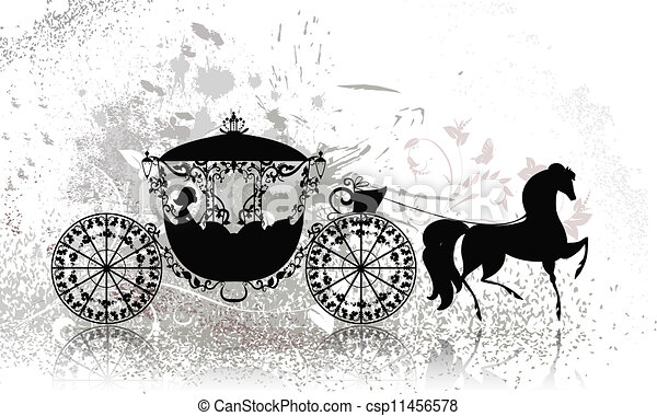 Cinderella carriage Clipart and Stock Illustrations. 238 ...