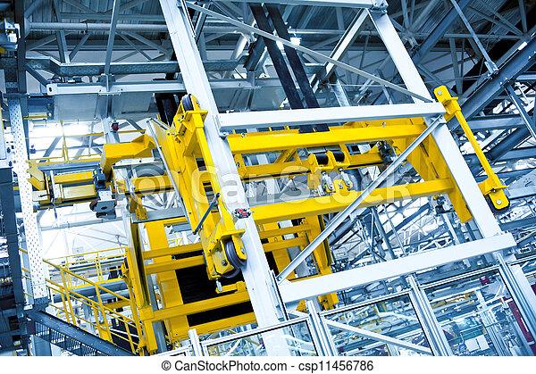 Automobile assembly shop - csp11456786