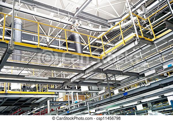 Automobile assembly shop - csp11456798