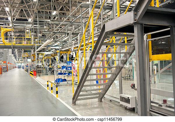 Automobile assembly shop - csp11456799