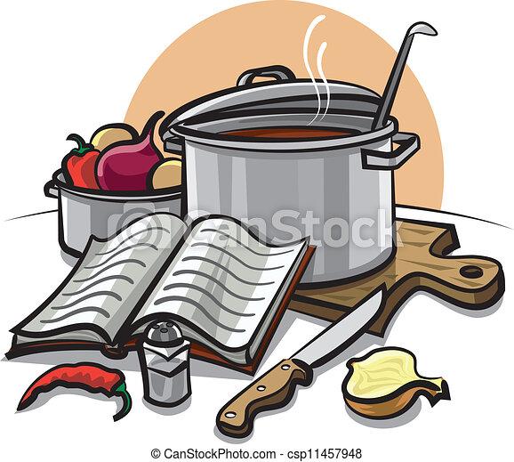 Eps vector de cocina csp11457948 buscar clipart for Dibujos para cocina