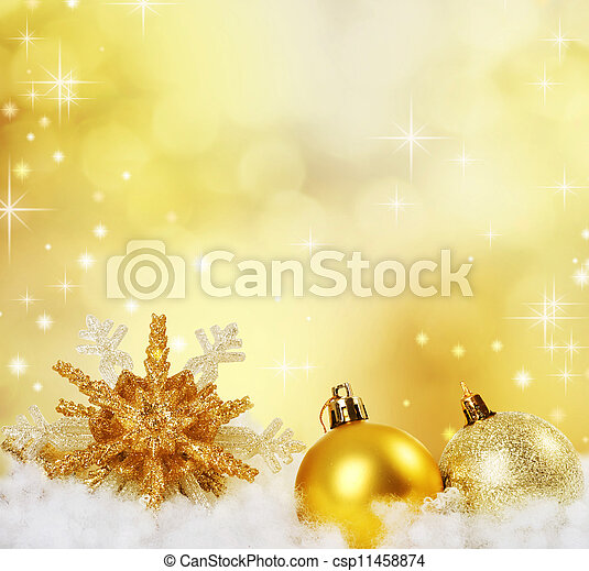 Christmas Border Design. Abstract Holiday Background  - csp11458874