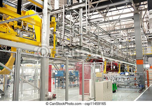 Automobile assembly shop - csp11459165