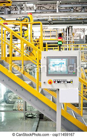 Automobile assembly shop - csp11459167