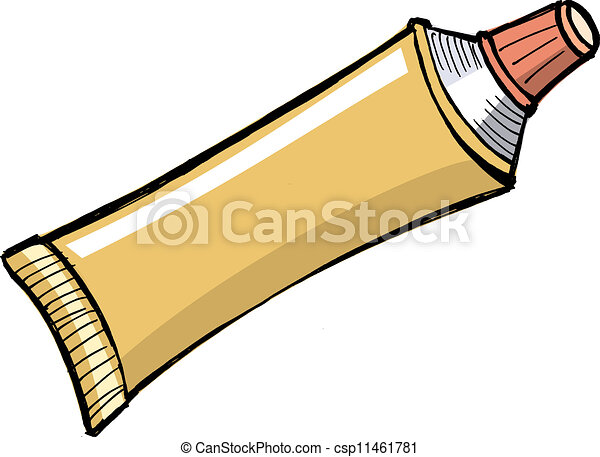 vector of tube of toothpaste and other paste csp11461781 Dental Toothbrush Clip Art Free free to download clipart toothbrush
