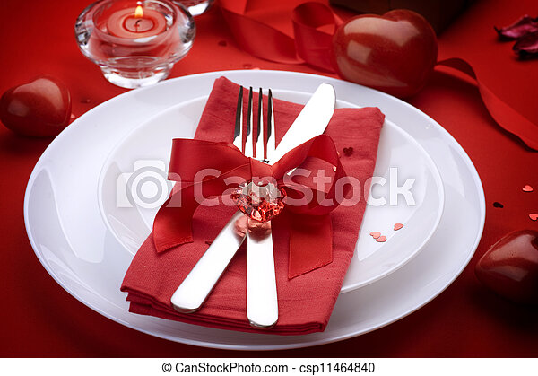art, banquet, bow, candle, catering, concept, couple, cutlery, d - csp11464840