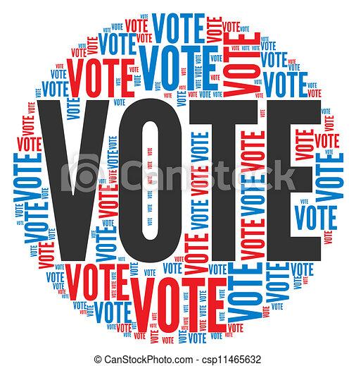 投票, 概念, 選舉 - csp11465632