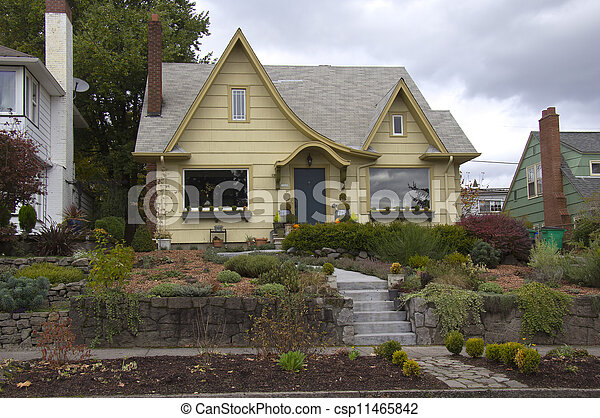 Residential living, Portland OR. - csp11465842