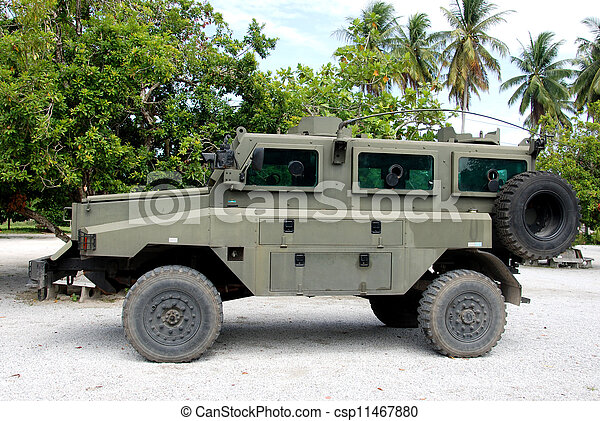 Military vehicle - csp11467880
