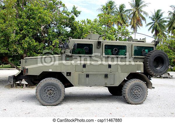 Military vehicle - csp11467880