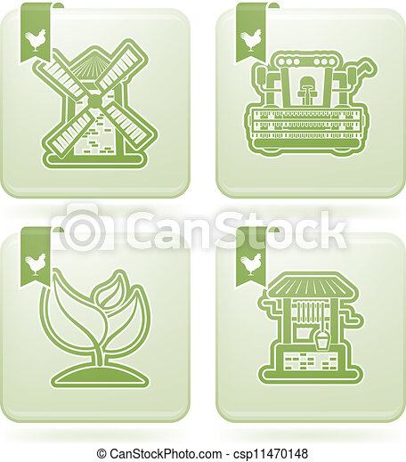 Industry Icons: Agriculture - csp11470148