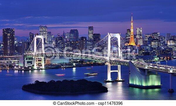 Tokyo Bay - csp11476396