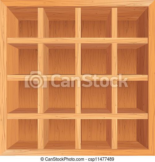 - Soportes para estantes de madera ...