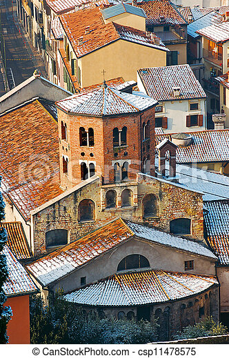 Santo Stefano Church in Verona Italy - csp11478575