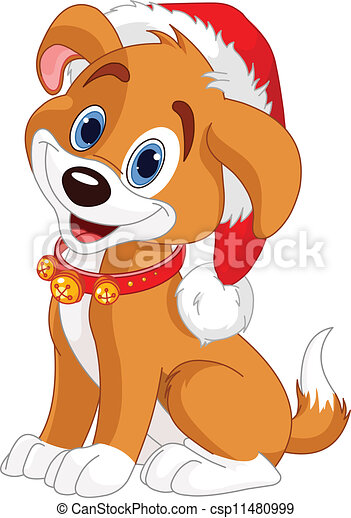 Christmas dog - csp11480999