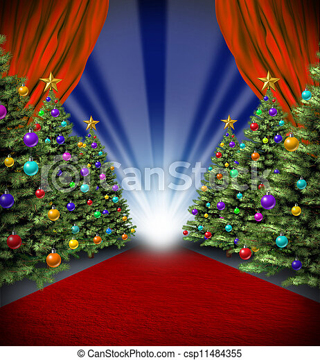 Red Carpet Holidays - csp11484355