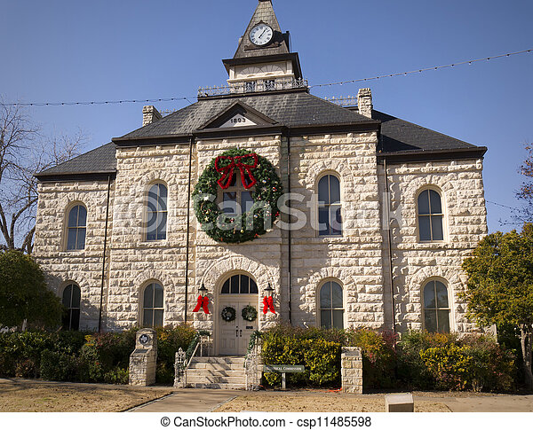 Christmas at Historic Court House - csp11485598