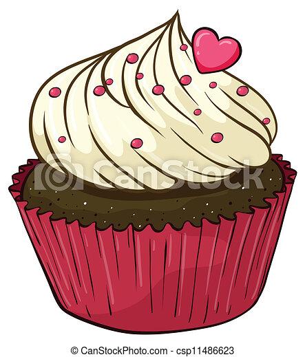 Herz muffins