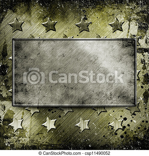 Military Grunge background - csp11490052