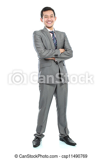 young business man - csp11490769