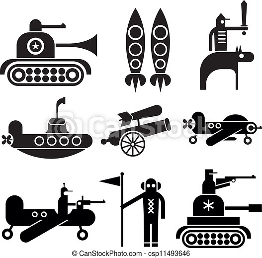 Military Icons - csp11493646