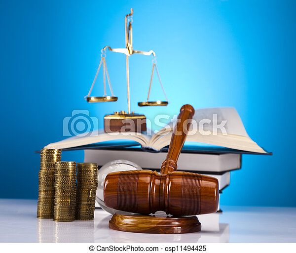 Scales of Justice and Law - csp11494425