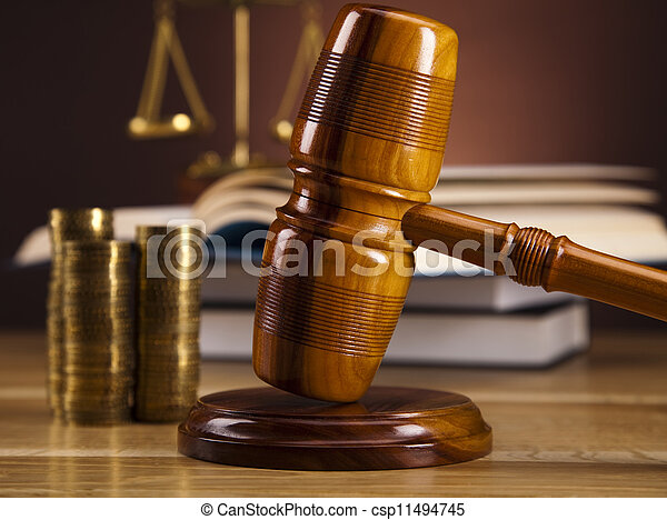 Law and justice concept - csp11494745