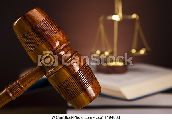 Law and justice concept - csp11494868