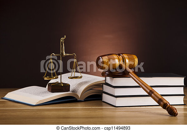 Justice and law - csp11494893