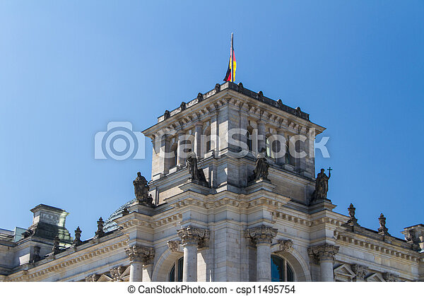Berlin Government District - csp11495754