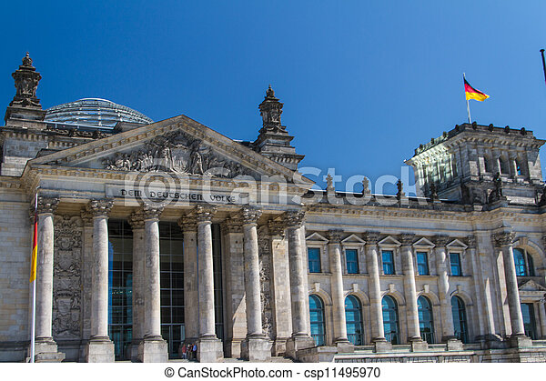 Berlin Government District - csp11495970