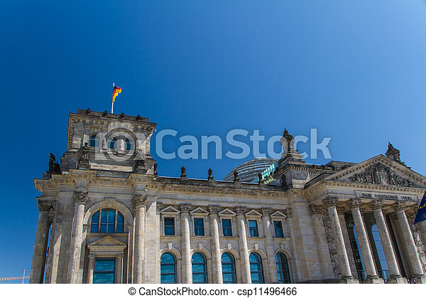 Berlin Government District - csp11496466