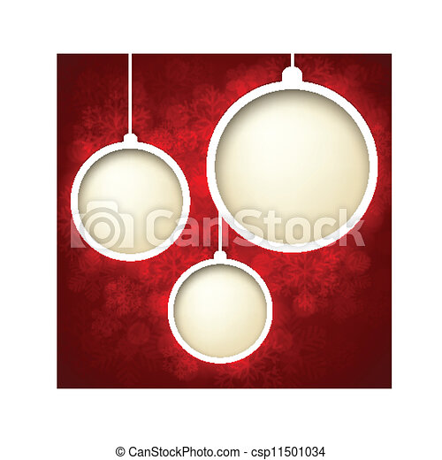 Christmas abstract background.  - csp11501034