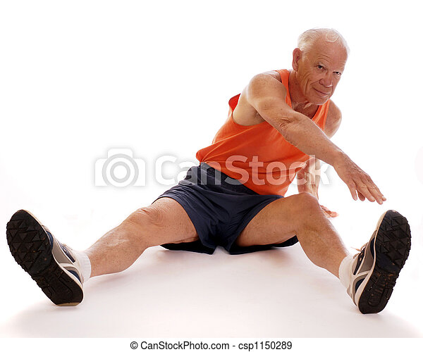 Senior Stretches - csp1150289
