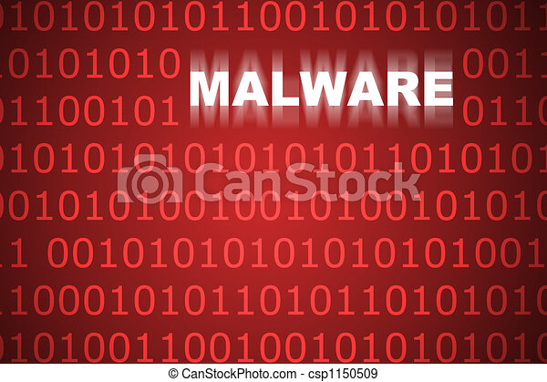 Malware Abstract Background - csp1150509